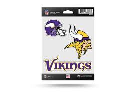 Nfl Football Minnesota Vikings Window Decal Sticker Set Officially Licensed Custom Sticker Shop Sticker Set Window Decals Decals Stickers