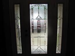 custom door inserts decorative glass