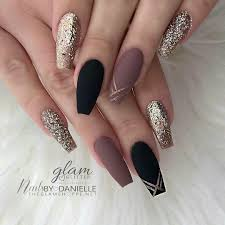 New Years Nails Classy Nail Designs Coffin Nails Designs