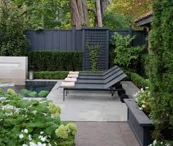 Good Life Of Design Black Fences Black Garden Fence Backyard Fences Backyard