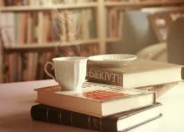 quotes about coffee pause while reading a book only in case