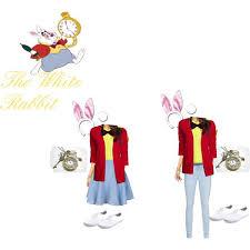 white rabbit costumes