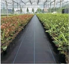 2m pp woven ground cover weed mat mulch
