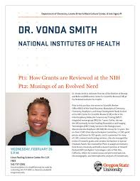 Dr. Vonda Smith (National Institutes of Health) - Black History Month  Seminar - Oregon State University