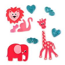 Zoomie Kids Large Safari Valentine Window Decal Wayfair