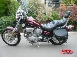 yamaha yamaha xv 750 virago moto