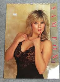 Samantha Fox 1991 calendar with some great shots of her! | #1729367318