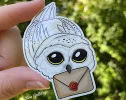 Hedwig Decal Etsy