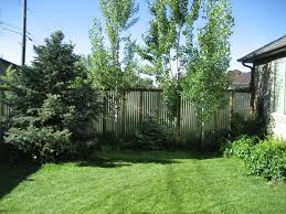 Contemporary Landscape By Steve Perry S Design Solutions Construction Inc Corrugated Metal Corrugated Metal Fence Metal Fence