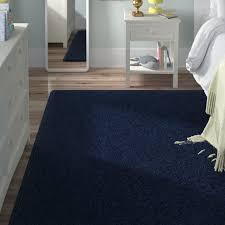 rae anika midnight navy blue area rug