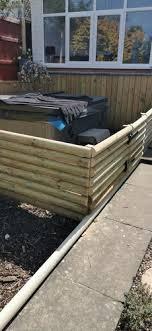 Treated Machined Half Round Fencing Rails Ruby Uk
