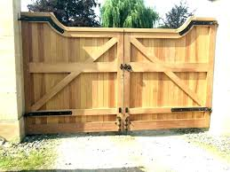 garden fence gate plans