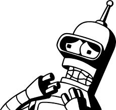 Bender Decal Sticker 03