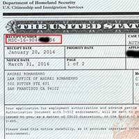 check uscis case status with