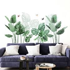 Removable Banana Leaves Cactus Shape Wall Sticker Mural Decal Living Room Bedroom Kids Room Wall Decals Art Murals Home Decor Wall Stickers Aliexpress
