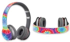 Amazon Com Mightyskins Protective Vinyl Skin Decal Cover For Dr Dre Beats Solo Hd Headphones Wrap Sticker Skins Tie Dye 1 Electronics