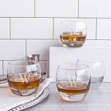 10 75 oz heavy based whiskey glasses