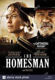 HILARY SWANK, TOMMY LEE JONES POSTER, THE HOMESMAN, 2014 Stock ...