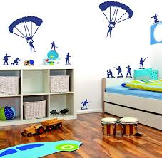 Amazon Com Label Daddy Toy Soldiers Wall Decals Lollipop Purple Home Kitchen