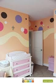 Polka Dot Stencils Circle Wall Stencils Baby Room Wall Baby Room Wall Decor Baby Room Colors