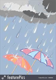 weather rainy day stock ilration