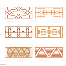 Set Of Different Fence Design Stock Illustration Download Image Now Istock