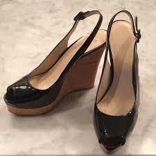 nine west shoes womens black patent
