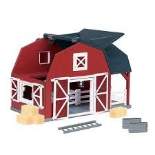 Kids Farm Barn Play Set Wooden 20 Piece Fences Ladder Loft Toy Gift Pretend New Ebay