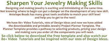 jewelry design planning template