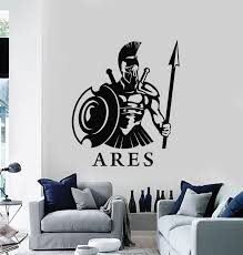Vinyl Wall Decal Ares God Of War Ancient Greece Greek Mythology Sticke Wallstickers4you
