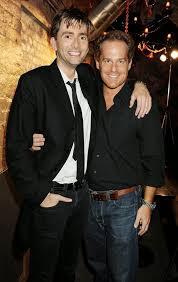 David with his buddy Adam James : davidtennant