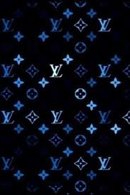 louis vuitton blue iphone wallpaper