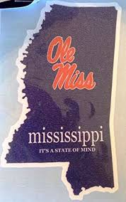 Decals Bama It S A State Of Mind Car Decal Alabama Crimson Tide Auto Window Sticker Offers Car Accessories