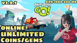 ANGRY BIRDS GO MOD UNLIMITED COINS/GEMS V2.9.1 FREE DOWNLOAD ...