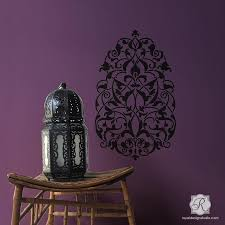 Turkish Ornament Wall Art Stencils For Painting Large Decal Designs Royal Design Studio Stencils