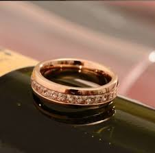 cartier d amour wedding band ring pink