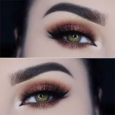 15 inspiring fall autumn eye makeup