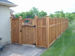 Cedar Fence I Like This Gate And Color Of This Fence Modern Design In 2020 Fence Gate Design Wood Fence Gates Cedar Fence
