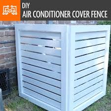 I Like To Make Stuff How To Make An Air Conditioner Cover Fence Facebook