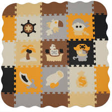 Baby Foam Play Mat With Fence Interlocking Crawling Mat With 23 Foam Floor Tiles Shopee Philippines