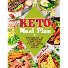 Keto Meal Plan - By Adele Baker (Paperback) : Target