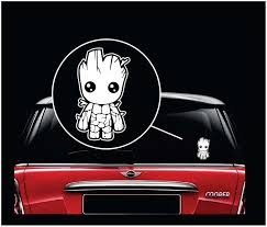 Baby Groot Guardians Of The Galaxy Window Decal Sticker Sticker Flare Llc