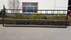 China Retractable Fence Gate Iron Fence Gate China Gate And Wrought Iron Gate Price
