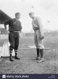 Christy Mathewson, New York Giants & Walter Johnson, Washington Senators  1912 Stock Photo - Alamy