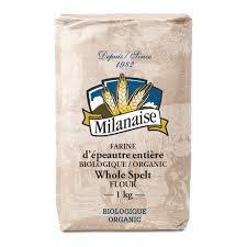 organic whole spelt flour la milanaise