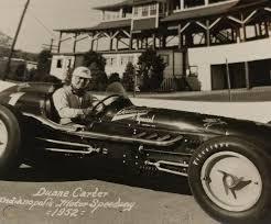 Vintage Duane Carter Race Car Racing Driver Indianapolis Speedway Photo  Indy 500   #1863682041