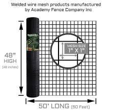 1 X1 14 Gauge Vinyl Coated Welded Wire Roll Welded Wire Fence