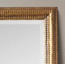 french gilt leaner mirror mirror