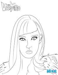 Catalina From Chica Vampiro Is Julieta And Mirko S Mother More Chica Vampiro Coloring Pages On Hellokids Com Vampiro Imprimir Desenhos Para Colorir Desenhos
