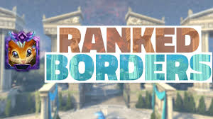 smite what do ranked borders not